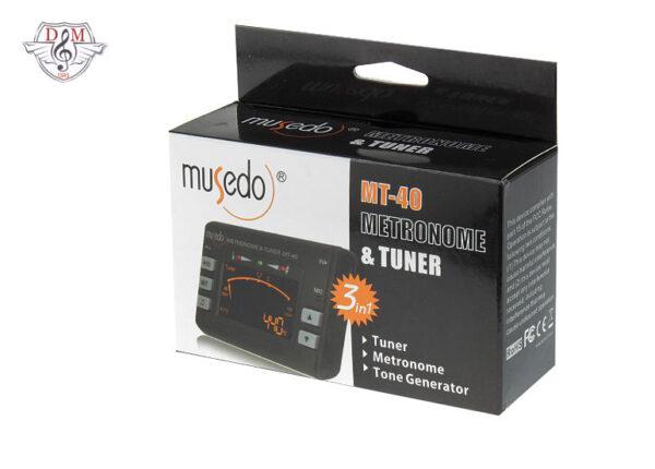 تیونر-مترونوم Musedo-mt40