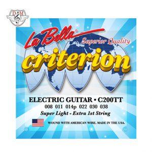 سیم گیتار الکتریک La Bella-C200TT