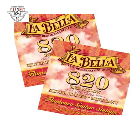 سیم گیتار فلامنکو La Bella-820R (غیر اصلی)