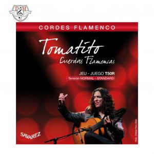 سیم گیتار فلامنکو کلاسیک ساوارز T50r لوازم جانبی موزیک دلشاد