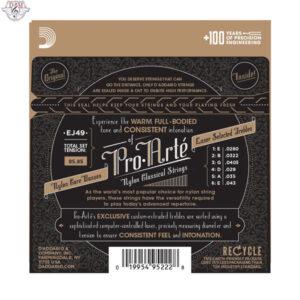 سیم گیتار کلاسیک D`adario-Ej49