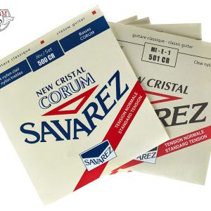 سیم گیتار ساوارز موزیک دلشاد Savarez 500 Cr لوازم جانبی