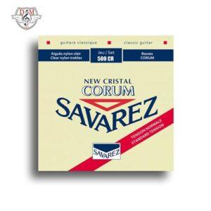 سیم گیتار ساوارز موزیک دلشاد Savarez 500 Cr