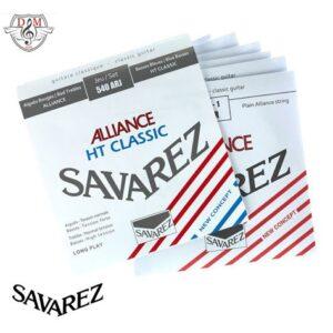 ُسیم گیتار کلاسیک ساوارز Savarez 540arj موزیک دلشاد لوازم جانبی