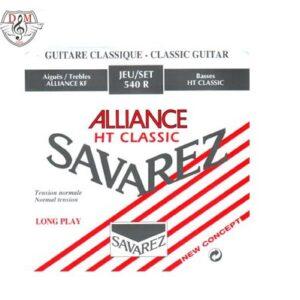 سیم گیتار کلاسیک Savarez-540R