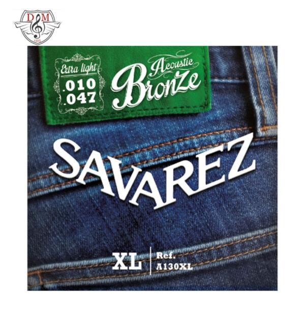 سیم گیتار آکوستیک Savarez-A130XL