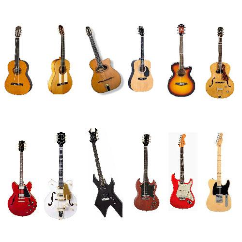 انواع سبک های گیتار