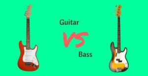 تفاوت گیتار بیس و گیتار الکتریک