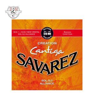 سیم گیتار کلاسیک Savarez-510MR