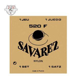 سیم گیتار کلاسیک Savarez-520F