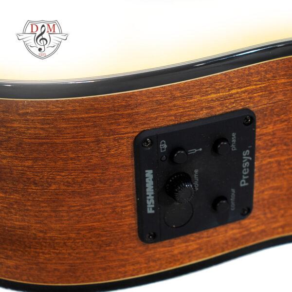 گیتار کلاسیک پالادو مدل CG80 Cut EQ 4/4